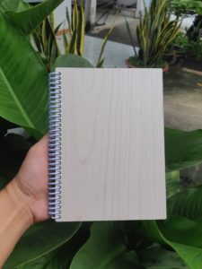 sổ tay bìa gỗ