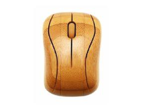 chuột gỗ tre không dây